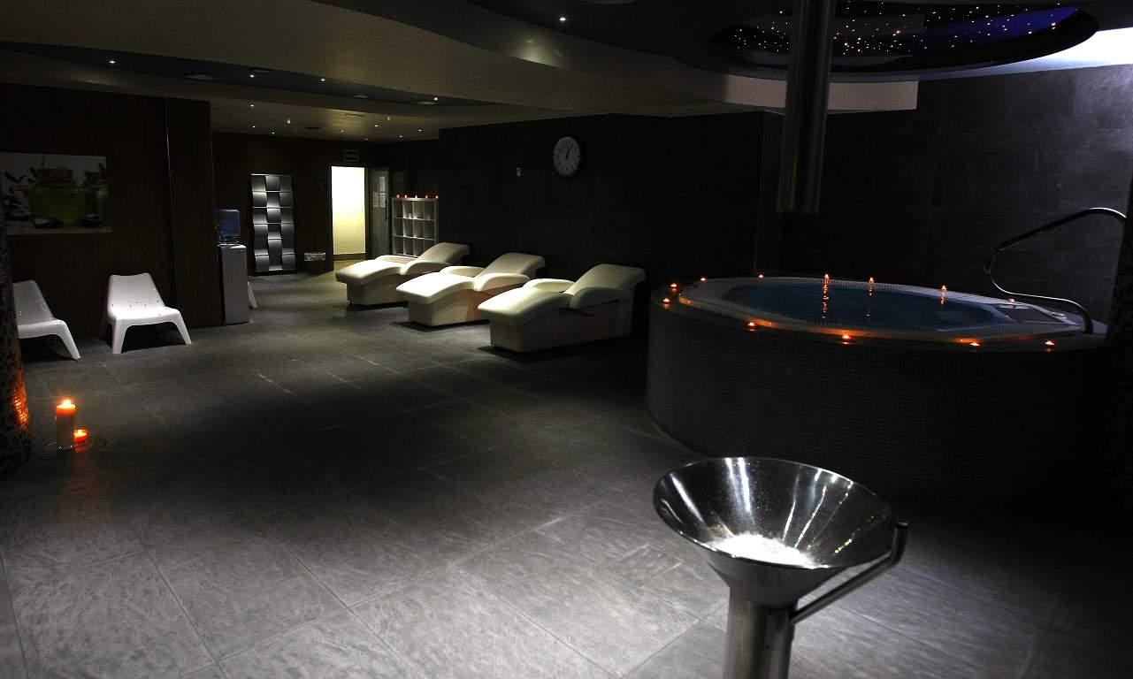 hotel con sauna en Jaca