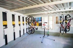 Hotel para bicicletas en Jaca
